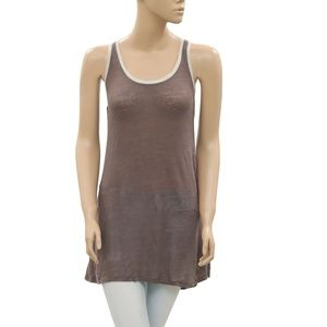 Diesel Embroidered Endless Summer Boho Tank Top XS